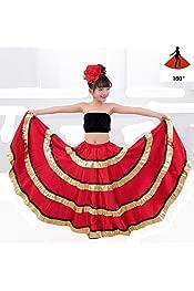 ZHUOTOP Ballet Tied Wrap Skirt Ballet Leotard Skirt for Kid and Adult Ballerina Class Costumes Gymnastics Skirt