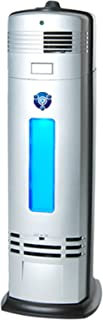 OION Technologies S-3000 Permanent Filter Ionic Air Purifier Pro Ionizer with UV-C Sanitizer, New (Silver)