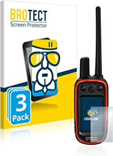 BROTECT Protector Pantalla Cristal Compatible con Garmin Alpha 100 Protector Pantalla Vidrio (3 Unidades) Dureza 9H AirGlass