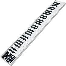 ニコマク NikoMaku 電子ピアノ 携帯型 SWAN 61鍵 軽量小型 本当のピアノと同じサイズ ワイヤレス長時間利用可能 練習にピッタリ 収納バッグ付き MIDI対応