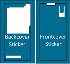 MMOBIEL Front and Back Set Waterproof Adhesive Sticker Compatible with Sony Xperia Z3 for LCD Screen and Backcover