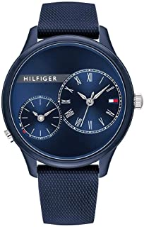 Tommy Hilfiger Womens Quartz Watch, Chronograph Display and Silicone Strap 1782146