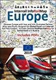 Interrail InfoRailMap Europe 2019: Discover the whole of Europe with InfoRailMap - Specifically designed for Interrail and Eurail Rail Pass Holders (English Edition)