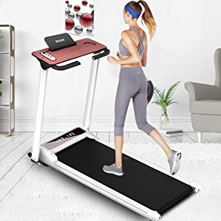TANGNADE Smart Digital Folding Treadmill - Electric Foldable Exercise Fitness Machine, Small Running Surface, Home Gym Workout Fitness