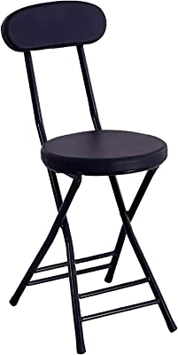 Chairs Chair, Dining Chair, Living Room, Bedroom Kitchen, Dorm, Fashion Folding Chair, Simple Portable Chair,Black