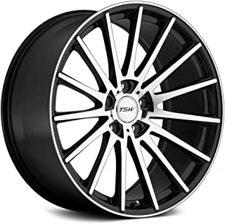 TSW CHICANE Black Wheel with Painted Finish (19 x 8.5 inches /5 x 108 mm, 43 mm Offset)