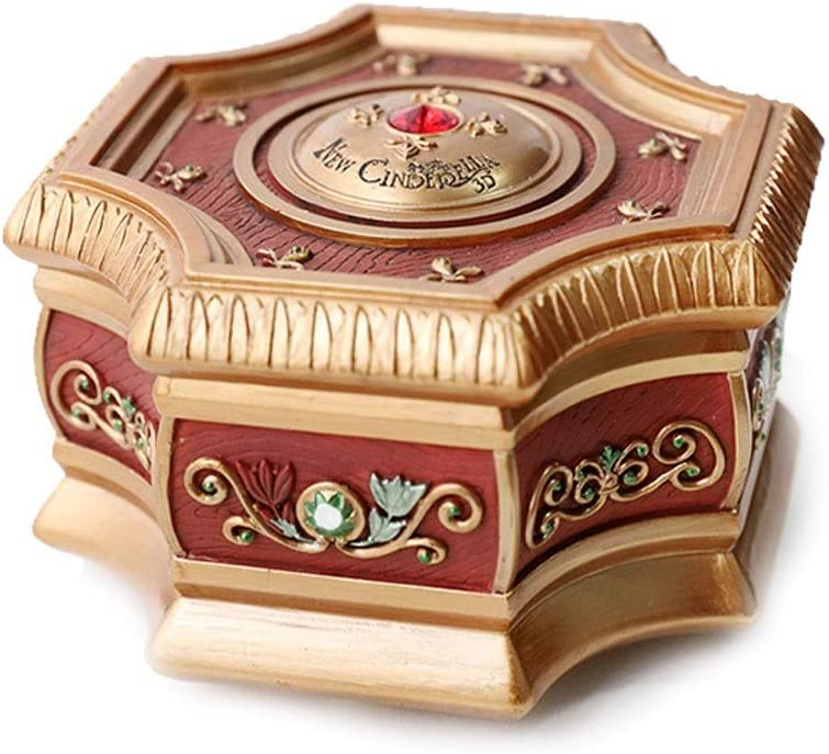 HBR Free shipping 5 ☆ popular anywhere in the nation Musical Box Crystal Jewelry Music Ball Stora