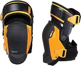 Toughbuilt KP-G3 Gelfit Thigh Support Stabilization Knee Pads - Ergonomic Fit