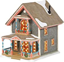 Department 56 New England Village Gingerbread Cottage #1 Ornament, 5.47 inch High