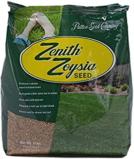 Zenith Zoysia Grass Seed (2 lbs.) 100% Pure Seed