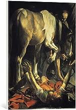 kunst für alle Canvas Print: Michelangelo Merisi da Caravaggio The Conversion of St Paul 1601