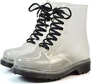 207ac24ce48e4 Amazon.com: Clear - Boots / Shoes: Clothing, Shoes & Jewelry