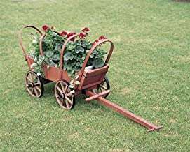 product image for DutchCrafters Traditional Covered Wooden Wagon (Wagon w/Cover)