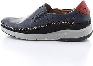 Fluchos | Zapato de Hombre | MAUI F0794 Tornado Lago Com.4 | Zapato de Piel | Cierre con Elásticos | Piso TR