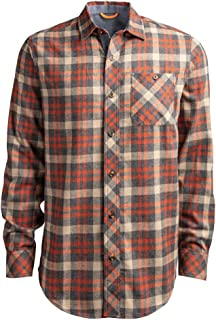 Timberland PRO Men's A1V49 Woodfort Mid-Weight Flannel Work Shirt