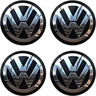 4PCS 56.5mm 2.2'' Auto Car Styling Accessories Emblem Badge Sticker Wheel Hub Caps Centre Cover fit for VW Volkswagen B5 B...