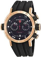 Swiss Legend Aqua Diver Chronograph Black Dial Watch SL-10622SM-RG-01-BB