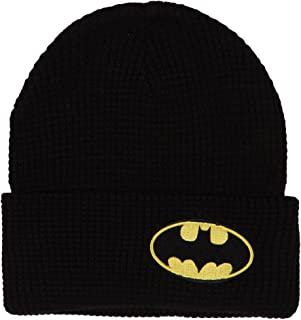knit batman logo
