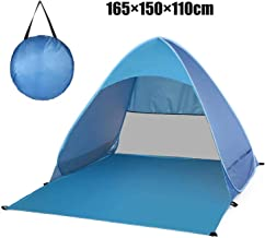 Automatic Pop Up Beach Tent Fishing Camping Tents Sun Shelter Cabana for 2-3 Person
