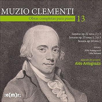 Muzio Clementi: Obras Completas Para Piano, Vol. 13