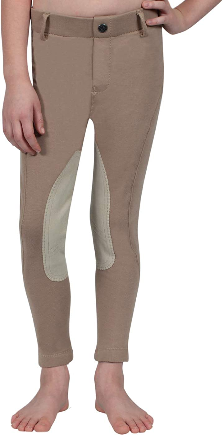 ELATION Kids Riding Breeches Girls Label Pull Red Max cheap 87% OFF Boys –