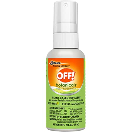 OFF! Botanicals Mosquito and Insect Repellent IV, Plant-Based* Bug Spray, Deet-Free** 2 oz.