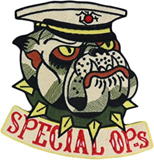 OYSTERBOY Large Rider Special Ops Large Dog Head Patch