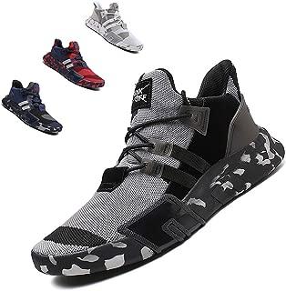 SKDOIUL Men mesh Breathable Sport Running Tennis Athletic Walking Shoes