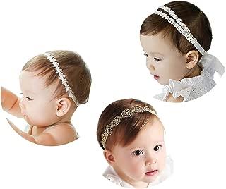 Yisscen 8 St/ück Nette Baby Stirnb/änder verknotete Baby Stirnband Turban M/ädchen Headwrap Knot Stirnband Neugeborenen S/äugling Kleinkind Stirnband