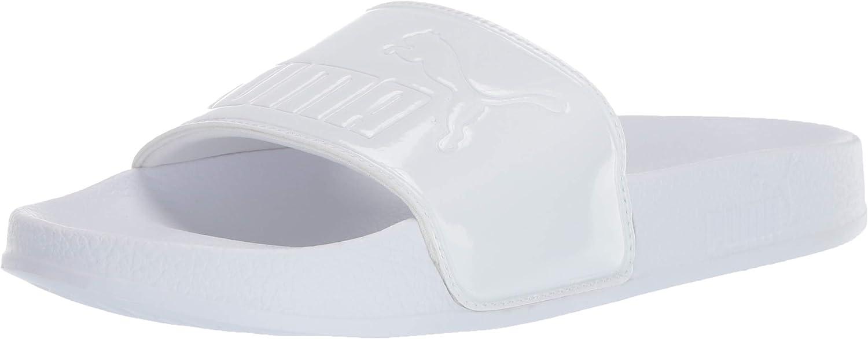 PUMA Men's Leadcat Patent Slide Sandal
