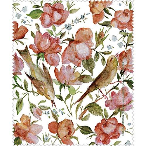 Rannenberg & Friends Reinigungstuch Brillenputztuch Persische Rosen, Microfasertuch Reinigungstücher Brillenputztücher Tücher Blumen