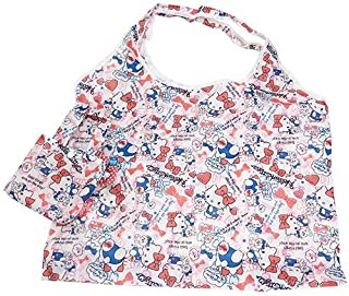 J's Planning Reusable Grocery Shopping Bag Foldable Shopper Bag 42x34cm Japan Characters Series - Sanrio Hello Kitty FAE094