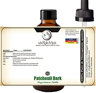 Patchouli Essential Oil || Dark || Pure & Unadulterated || Therapeutic Quality || Indonesia (4 oz FBA)