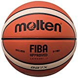 Molten BGG7X – Ballon de Basket-Ball, Orange/Marron, Taille 7
