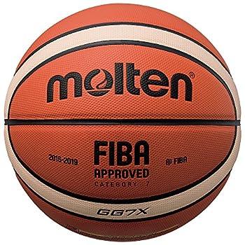 Molten BGG7X Composite Basketball Orange/Tan Official Size 7