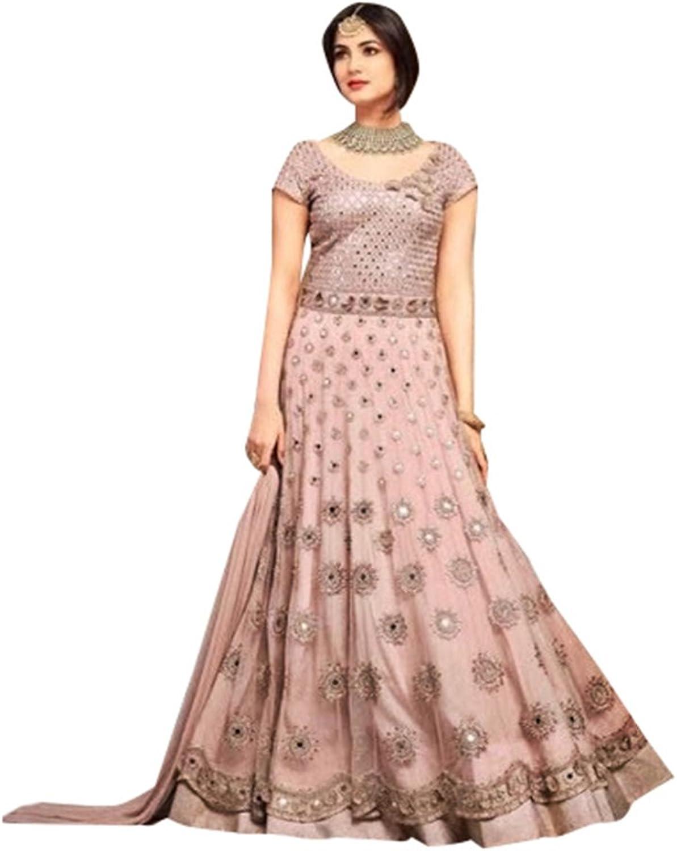 Bollywood Collection Anarkali Salwar Kameez Suit Ceremony Punjabi Muslin 639 1