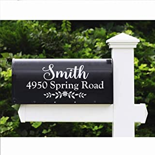 mailbox name and address signs