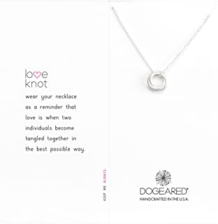 Dogeared Women's Love Knot Necklace
