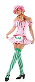 Strawberry Girl Adult Costume - Large