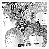 Beatles Revolver Cover Album White Black Music and Impressive and Trendy Poster Print Decor Wall or Desk Mount Options