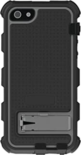 Ballistic HC0956-M345 Hard Core Series Case with Holster for Apple iPhone 5 - - Retail Packaging - Black/Charcoal