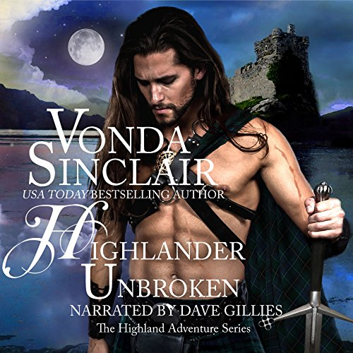 Highlander Unbroken audiobook cover art