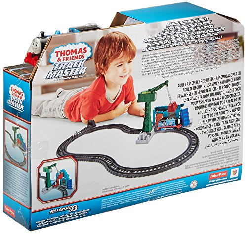 Thomas & Friends DVF73 Trackmaster Demolition At The Docks Playset