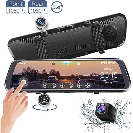 Dashcam Autokamera Carmate V33 10 Zoll Touch Screen Elektronik