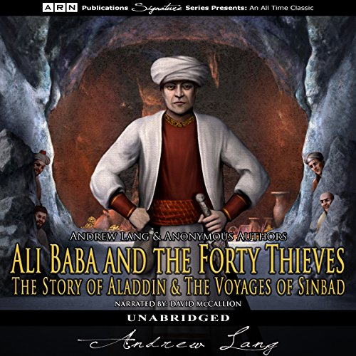 Ali Baba and the Forty Thieves, The Story of Aladdin, and The Voyages of Sinbad cover art