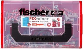 fischer Fixtainer DUOPOWER, Power & Slimme plugbox met 210 DUOPOWER pluggen (120 stk. 6 x 30, 60 stk. 8 x 40, 30 stuks 10 ...