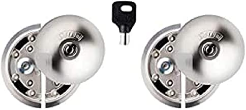 UFO 8080332315d Security Lock voor de Cargo Bucht van Vans, nikkel mat