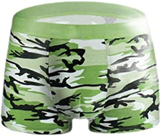 Howely Men's Underwear,Sexy Camouflage U Pouch Underwear Boxer Brief