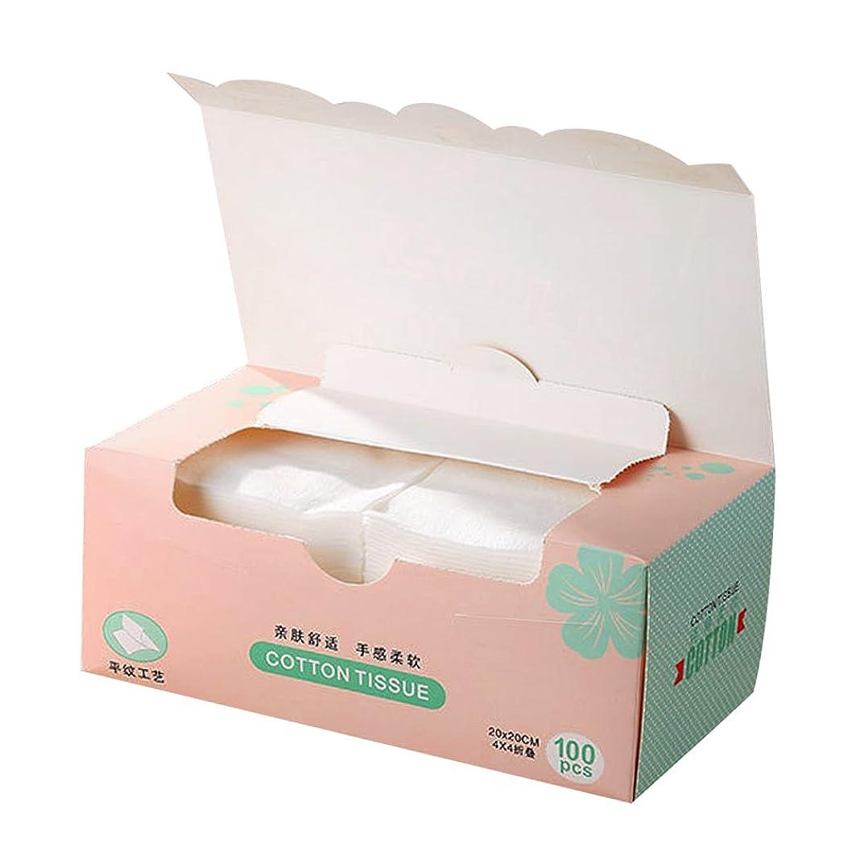 共産主義美容師学習Perfeclan 1箱 使い捨て フェイスタオル メイクリムーバー 顔用タオル 機能性 使い捨てリムー メイク