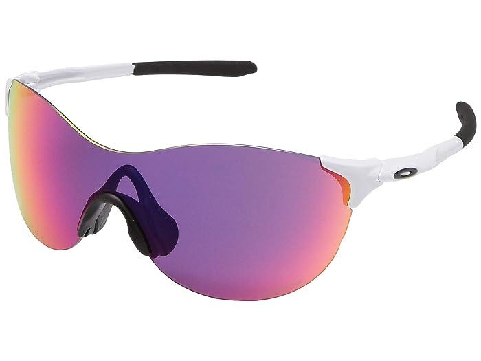 Oakley 37 mm EVZero Ascend (Polished White) Fashion Sunglasses